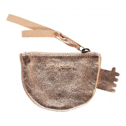 Easy Peasy Bif Rabbit Iridescent Leather Purse-listing