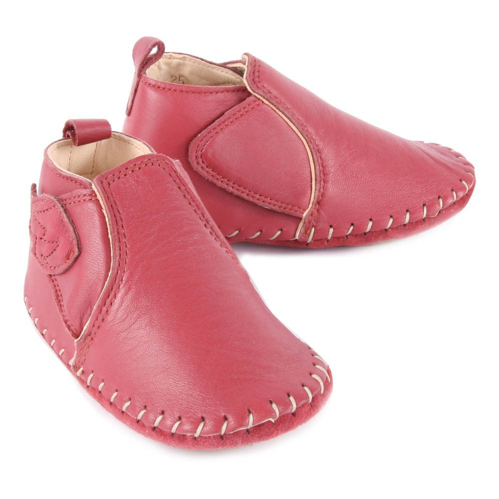 Chaussons Cuir Scratch Ailes BomokEasy Peasy Lx6ca