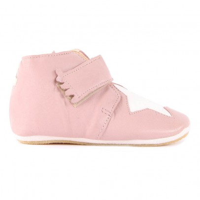 Chaussons Cuir Semelle Kiny Etoile