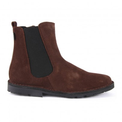 Diggers Suede Chelsea Boots with Zip-listing