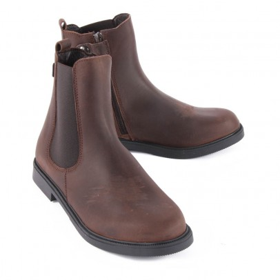 Diggers Boots Chelsea Zippées Cuir-listing