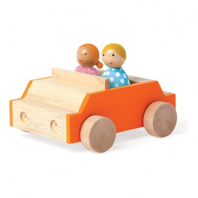The Manhattan Toy Company Car with 2 Figurines-listing