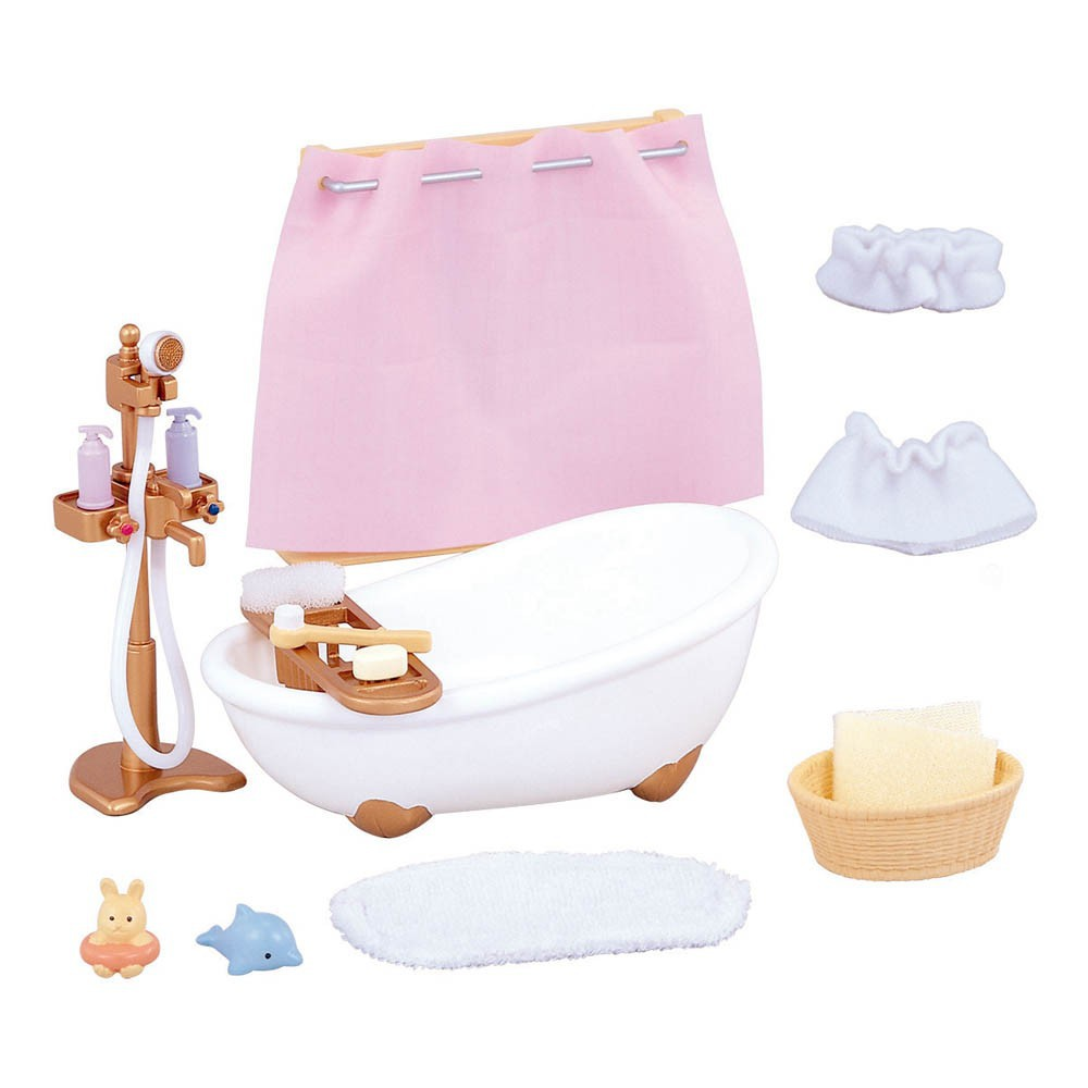 Bathroom Set Multicoloured Sylvanian Toys and Hobbies Children