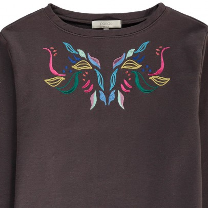 Paade Mode Embroidered Sweatshirt-listing