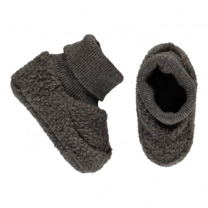 1+ IN THE FAMILY Nano Fleece Slipper Socks-listing