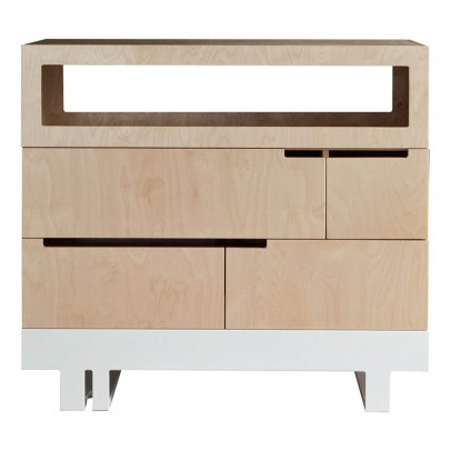 Kutikai The Roof Chest of Drawers 100x90cm-product