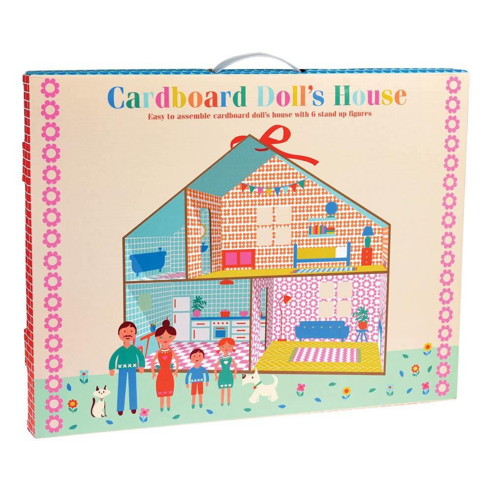 Kit pour construire sa maison de poup e multicolore rex jouet et for Maison en kit