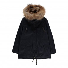 product-Blonde No.8 Aspen Parka with Fur Hood