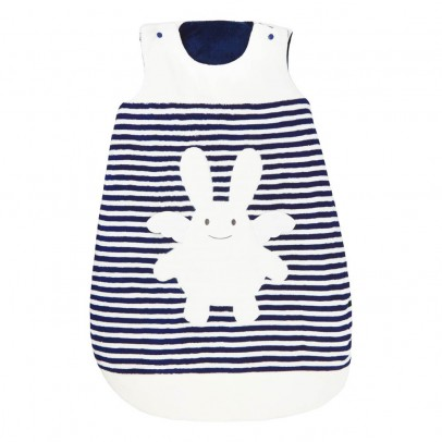 Trousselier Navy Angel Rabbit Reversible Sleeping Sack-listing