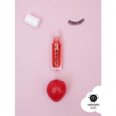 Nailmatic Kids Strawberry Lip Gloss Rollette-listing