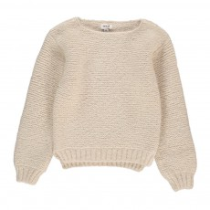 product-Oeuf NYC Moss Stitch Alpaca Wool Baby Jumper
