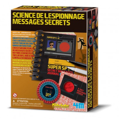 4M Spy Science Secret Message Kit-listing