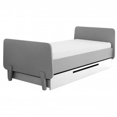 Letto cassetto - Joy evolutivo 70x140 cm Bianco Quax Design
