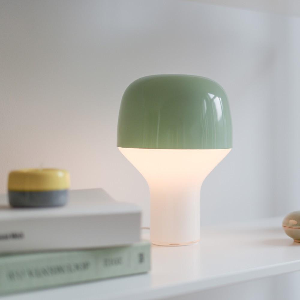 lampe poser cap gris teo design adulte. Black Bedroom Furniture Sets. Home Design Ideas