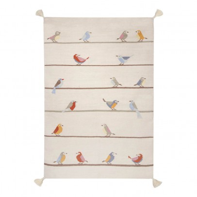 Art For Kids Tapis kilim birds en laine-listing