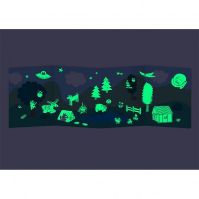 Omy Nature Phosphorescent Wall Stickers - Set of 100-listing