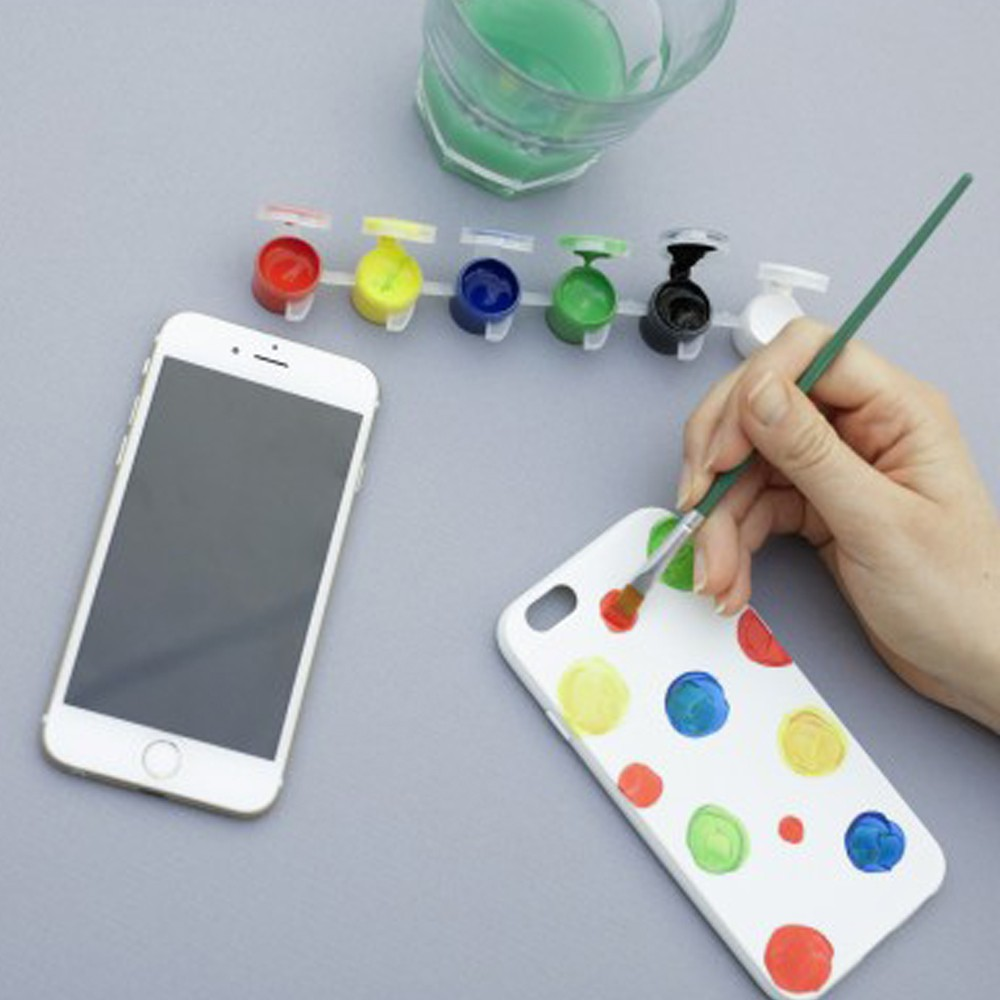 Carcasa personalizable para pintar Iphone 6 plus Blanco