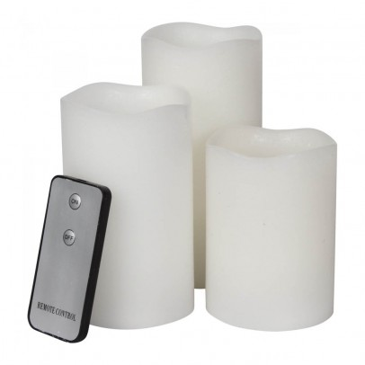 Smallable Home LED Candles - Set of 3-listing