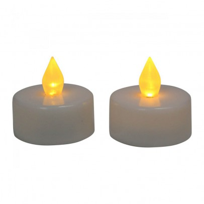 Smallable Home LED Plate Warmer Candles - Set of 2-listing