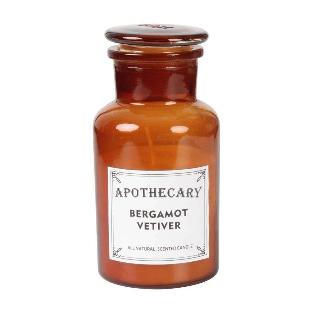 Bougie apothicaire bergamote et vétiver 200g-product