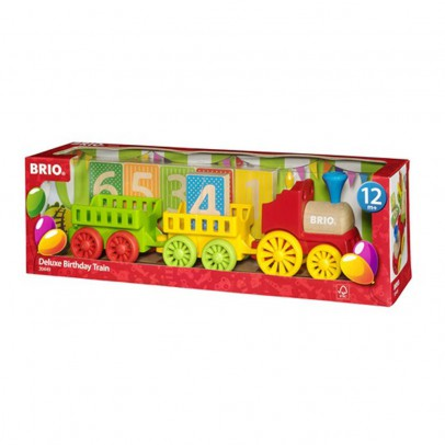 Brio Birthday Train-listing