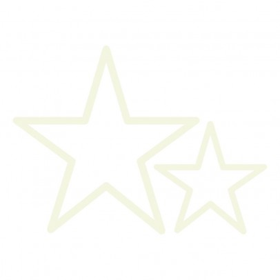 Lilipinso Phosphorescent Star Stickers - Set of 2-listing
