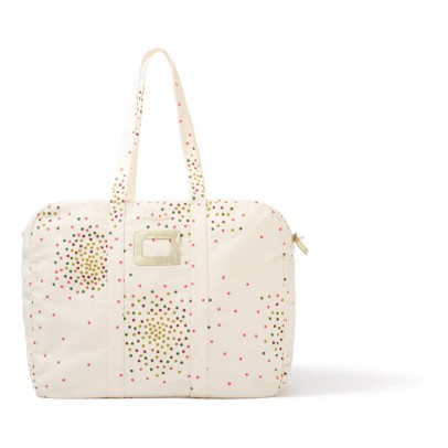 Polder Girl Ecru 72h Weekend Bag - Multi-Coloured Dots-listing