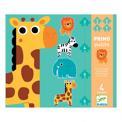 Djeco In the Jungle Primo Puzzle-listing