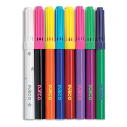 Djeco 10 Magnetic Pens-listing