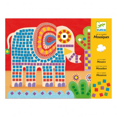 Djeco Mosaïques élephant et escargot-listing