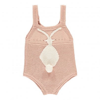 Stella McCartney Kids Barboteuse Maille Coton Bio Bunny-product
