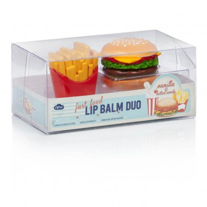 Smallable Toys Balsamo per le labbra Fries e Burger - Set 2-product
