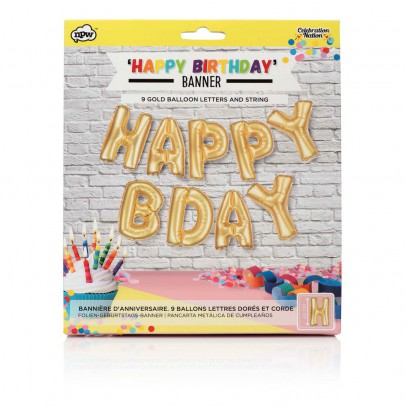 Smallable Toys Palloncini ghirlanda Happy Birthday-listing