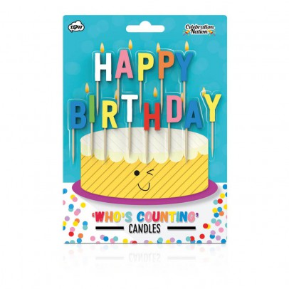 Smallable Toys Bougies Happy Birthday-listing