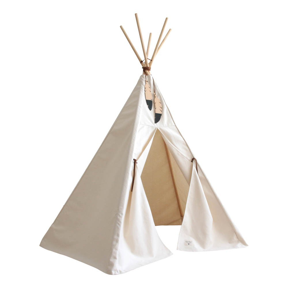 tipi nevada naturel nobodinoz jouet et loisir enfant. Black Bedroom Furniture Sets. Home Design Ideas
