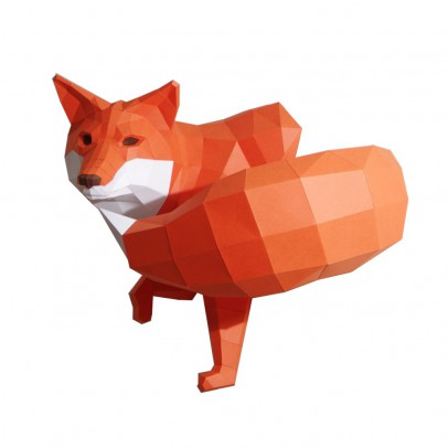 Paperwolf Decorative Fox Figurine-listing