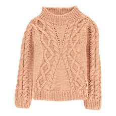 product-Velveteen Isla High Neck Cable Knit Jumper
