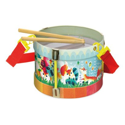 Vilac Woodland Metal Tambourine Multicoloured-listing