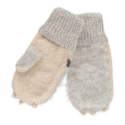 Oeuf NYC Rabbit Alpaca Wool Baby Mittens-listing