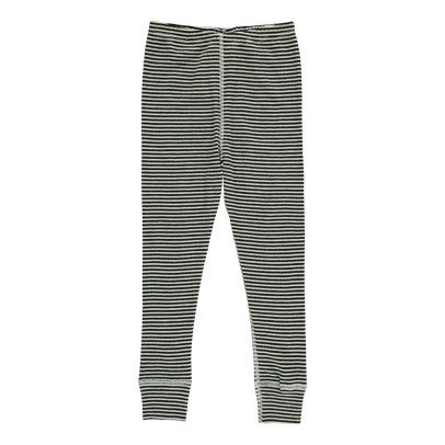 Nui Stripe Ribbed Organic Merino Wool Leggings-listing