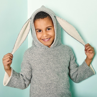 Oeuf NYC Rabbit Alpaca Wool Baby Burnous-product