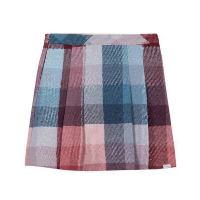 Paul Smith Junior Checked Pleated Maura Skirt-listing