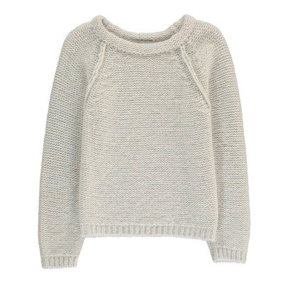 Paade Mode Chunky Merino and Alpaca Wool Jumper-listing