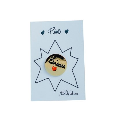 Mathilde Cabanas Pins bisou Multicolor-listing