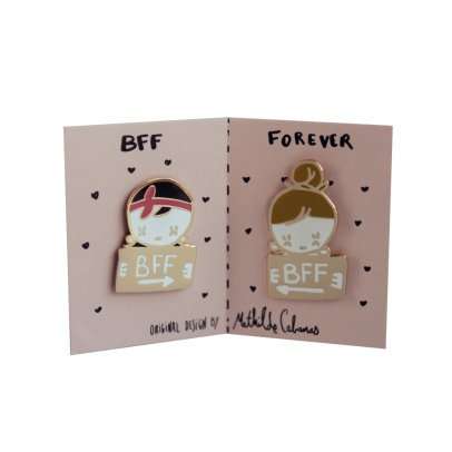 Mathilde Cabanas Pins BFF Multicolore-listing