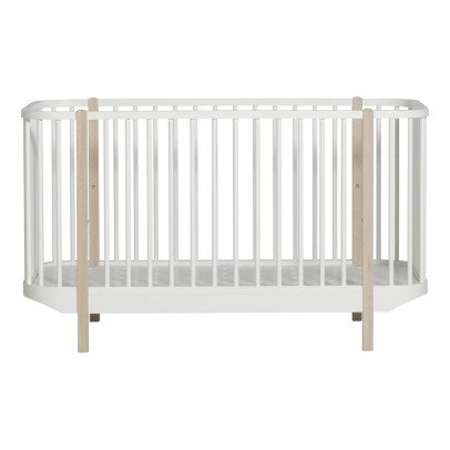 Oliver Furniture Evolving Oak Baby Bed Wood 70x140cm-listing