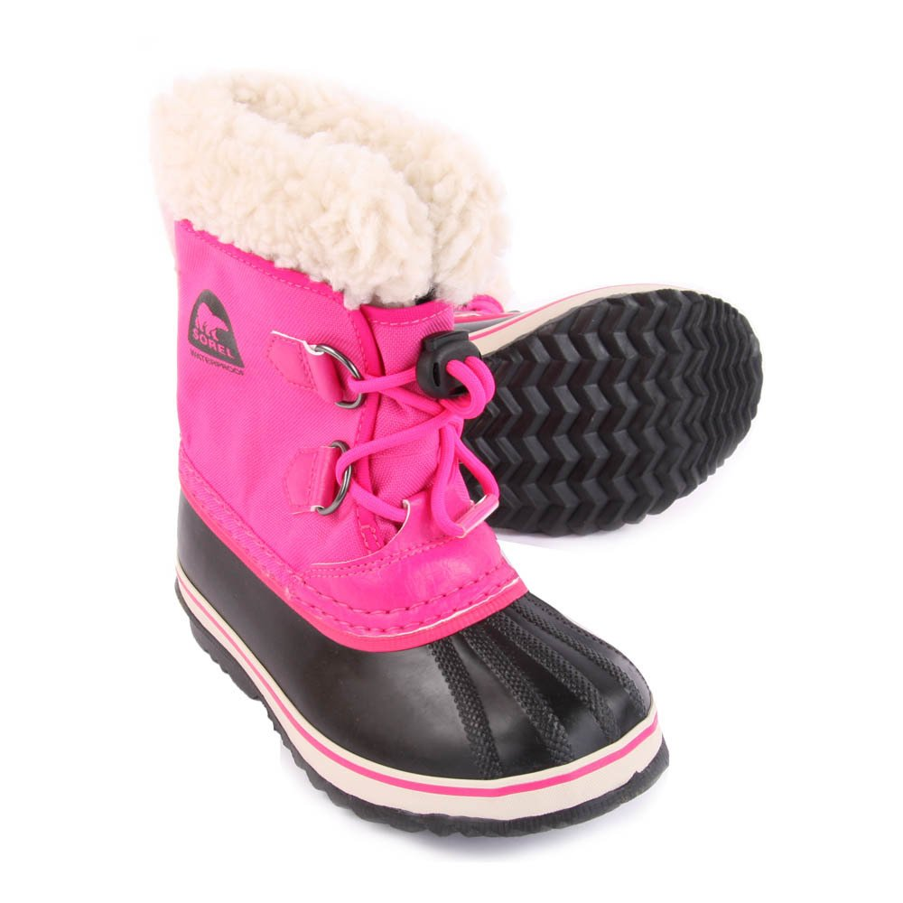 Fur-Lined Waterproof Nylon Yoot Pac Boots-product