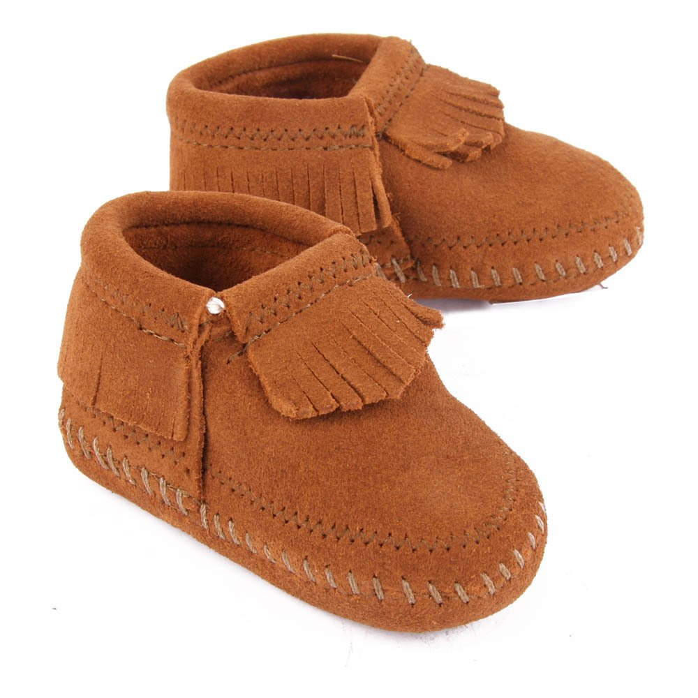 Chaussons Suède Franges RileyMinnetonka