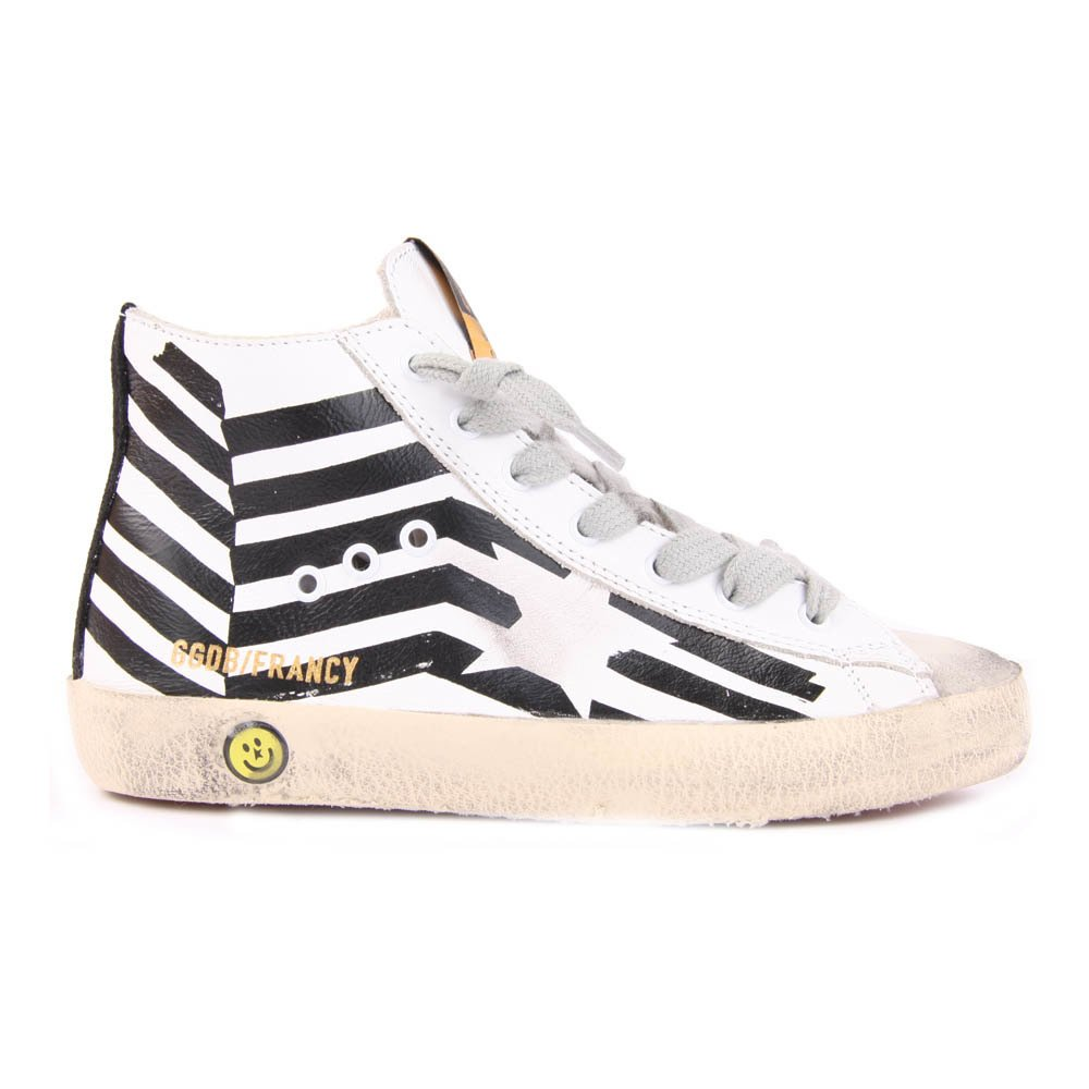 Francy Flag Leather Trainers Golden Goose Xsxi2k47l