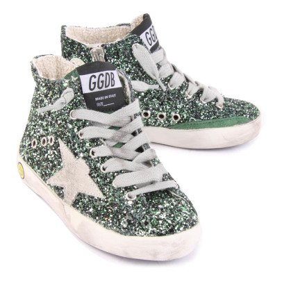 Golden Goose Deluxe Brand Zapatillas Paillettes Cremalleras Francy-listing
